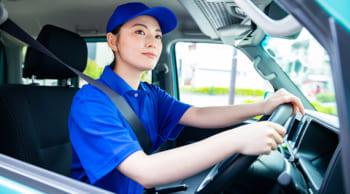 日中短時間|9~14時|女性活躍中|商品の配達・運転