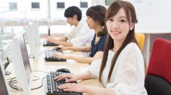 夕方短時間|学生・WワークOK|高収入のオフィスワーク