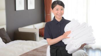 主婦(夫)さん歓迎|扶養内勤務|ビジネスホテルの清掃スタッフ