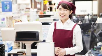 スーパーの食品レジ|時間帯選択可|未経験&WワークOK