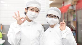 食品工場での簡単なライン作業|フルタイム18:30迄|主婦(夫)・シニア活躍中