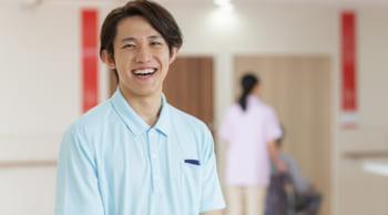 長期歓迎 高時給の介護職 男性活躍中