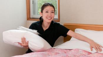 ホテルの清掃staff 週3日~OK 主婦・シニアさん活躍中
