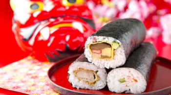 2月2日だけのお仕事|時給1100円|巻き寿司のカンタンな盛り付け