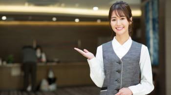 正社員雇用|ホテルの支配人候補|日勤のみ|女性活躍中
