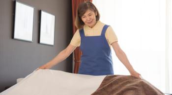 GW期間だけの単発|ホテル清掃の補助|60代迄の男女活躍