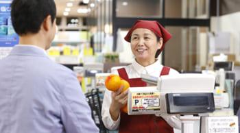 50~60代活躍中│主婦(夫)歓迎│スーパー内の食品レジ