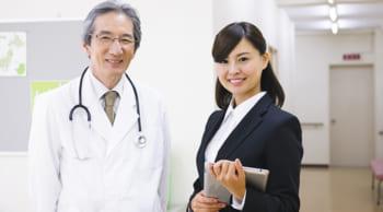 未経験歓迎|女性活躍中|ドクターの補助業務