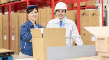 土日祝休み 工場にて包装・梱包 空調完備 夕方からの勤務