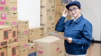 日勤のみ|急募・部品の入出庫など軽作業|長期安定