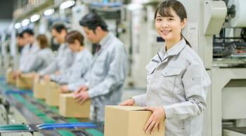 日勤のみ|土日休み|長期安定|工場倉庫内での梱包作業